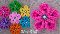 How to Crochet Flowers Video Tutorial