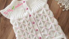 Crochet baby vest pattern