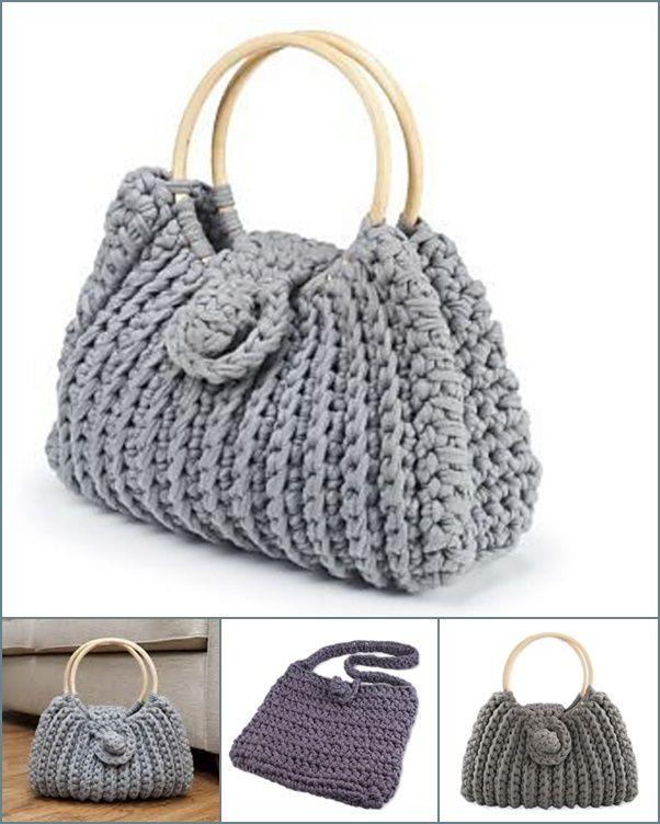 Free knitted bag patterns for beginners - Knittting Crochet