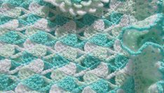 Lovely Knitting Baby Blanket Patterns-4