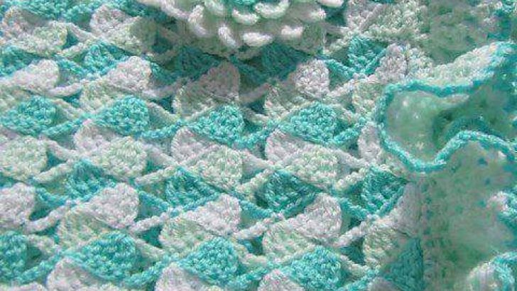 Lovely Knitting Baby Blanket Patterns-4
