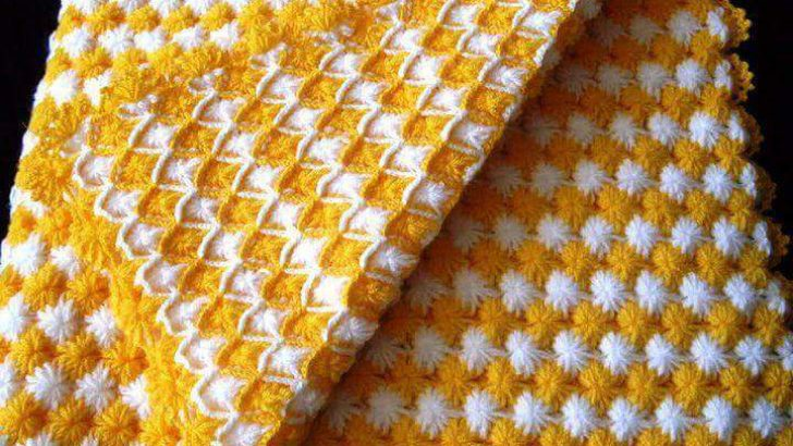 Lovely Knitting Baby Blanket Patterns-3