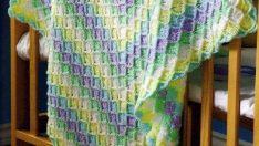 Lovely Knitting Baby Blanket Patterns-2