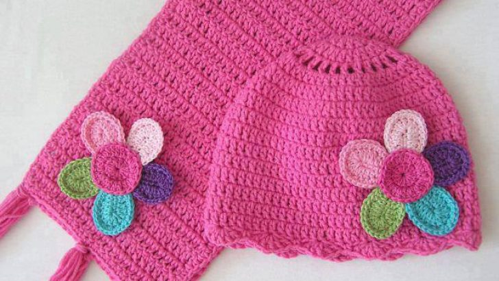 Knitting baby scarf and hat patterns free