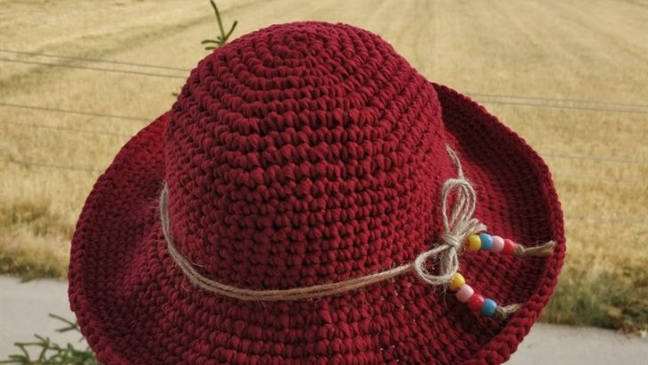 Crochet Summer Hat Pattern Easy