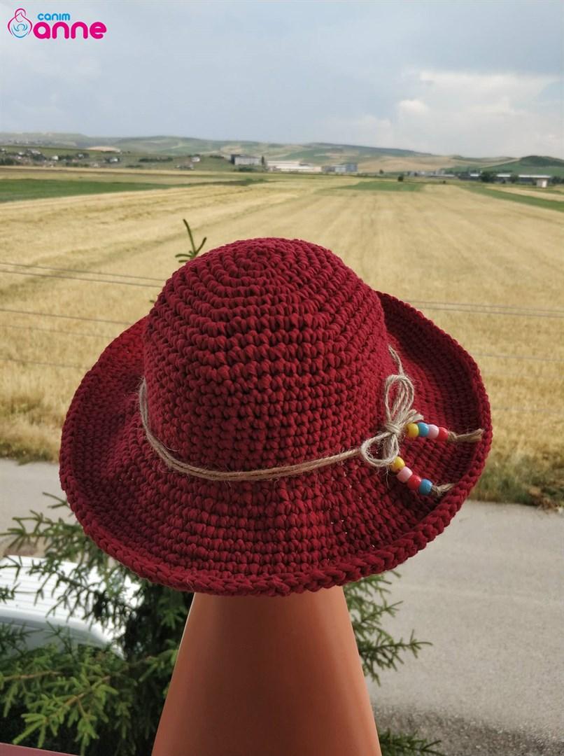 Crochet Summer Hat Pattern Easy Knittting Crochet
