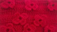 Crochet 3D Flower Pattern Free