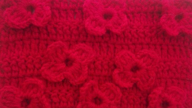 Crochet 3D Flower Pattern Free