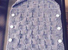 Most Beautiful Knitting Baby Sleeping Bag Patterns