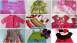 The most beautiful baby knitted vest and dress patterns
