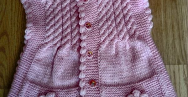 The most beautiful baby vest knitting patterns