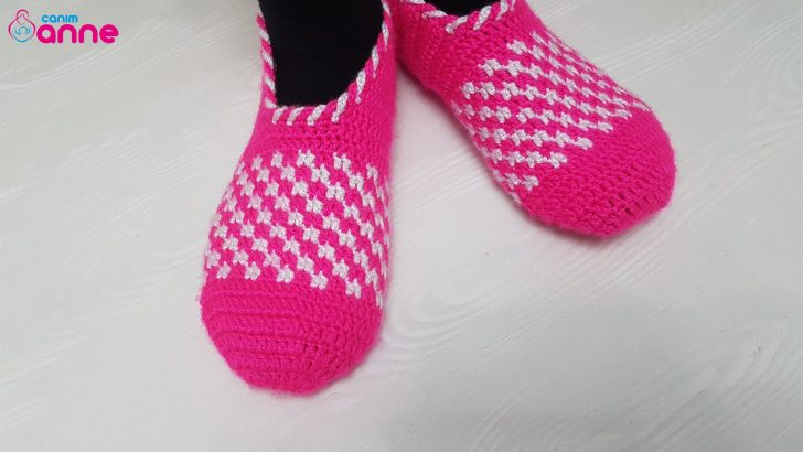 Crochet Women Pötkare Booties Pattern Free
