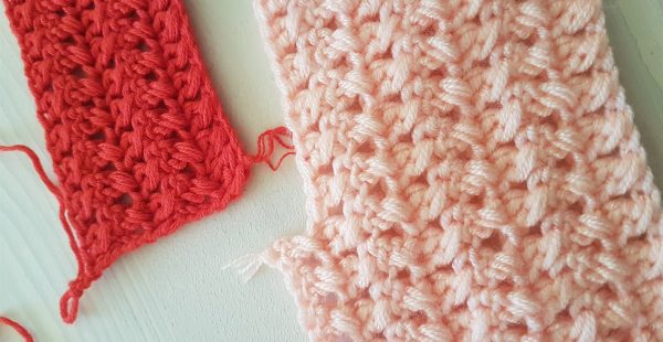 Double Sided Cross Banister Crocheted Free Pattern