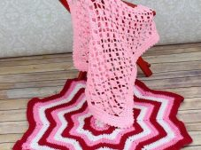 Easy to Knit Baby Blanket Patterns-3