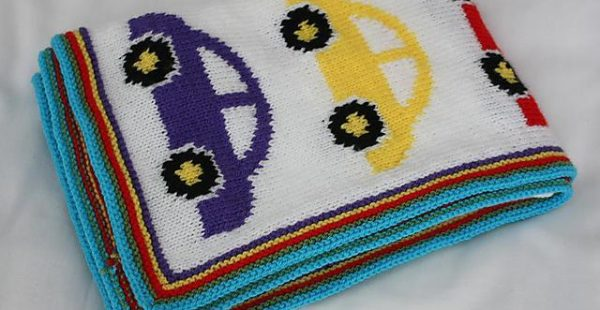 Easy to Knit Baby Blanket Patterns-2