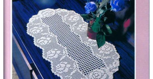 Lace Bedspread Room Sets and Schemes Free Pattern-2