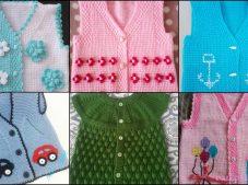 Knit, Crochet Best Nice Easy Baby Vest Patterns