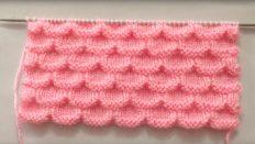 Very Beautiful Knitting Stitch pattern For Sweater/ Cardigan /Blanket