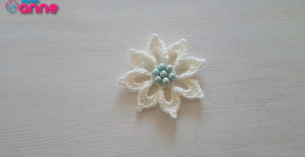 Great Crochet Flower Free Pattern