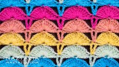 How to Crochet Shell Stitch Free Pattern